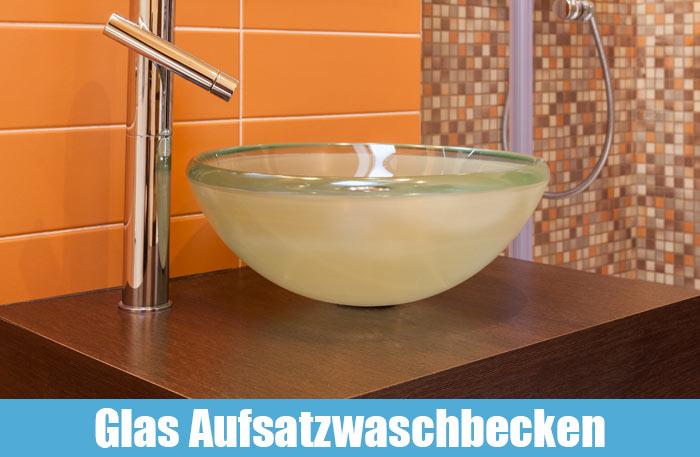 Aufsatzwaschbecken Glas