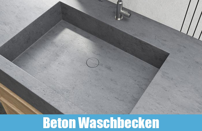 Betonwaschbecken Betonwaschtische