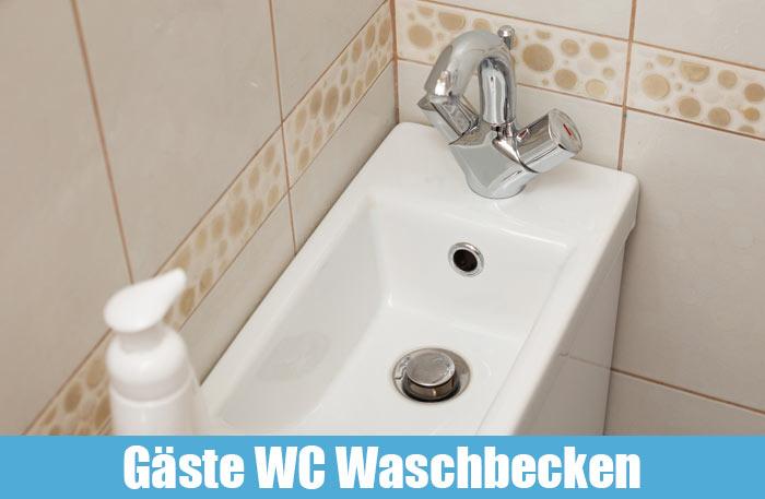Gäste WC Waschbecken mit Unterschrank - Kleines Waschbecken mit Unterschrank