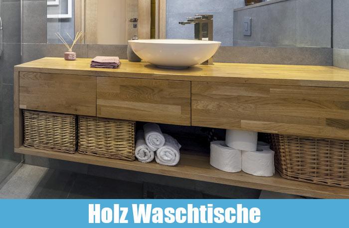 Holz Waschtisch