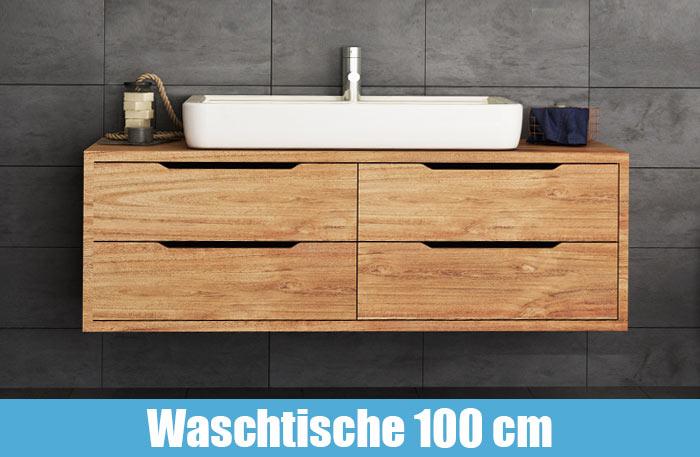 Waschtisch mit Unterschrank 100 cm breit