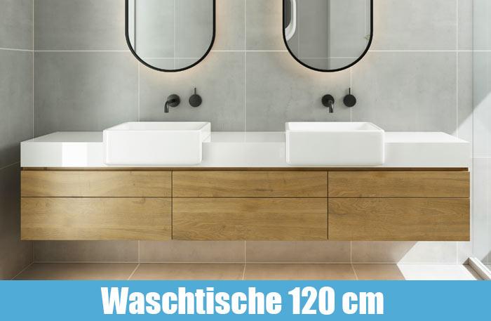 Waschtisch mit Unterschrank 120cm breit