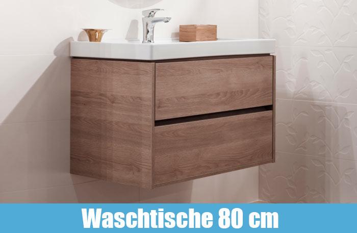 Waschtisch mit Unterschrank 80cm breit