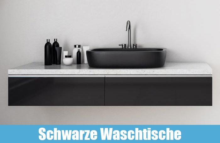 Waschtisch Schwarz